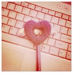 Hello Kitty Heart Pen