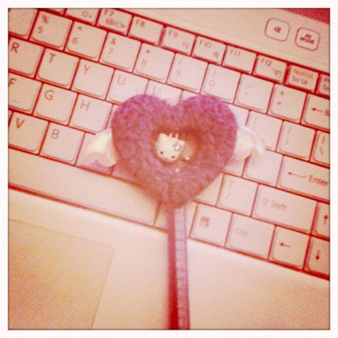 Hello Kitty Heart Pen